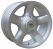 bongo alloy wheel
