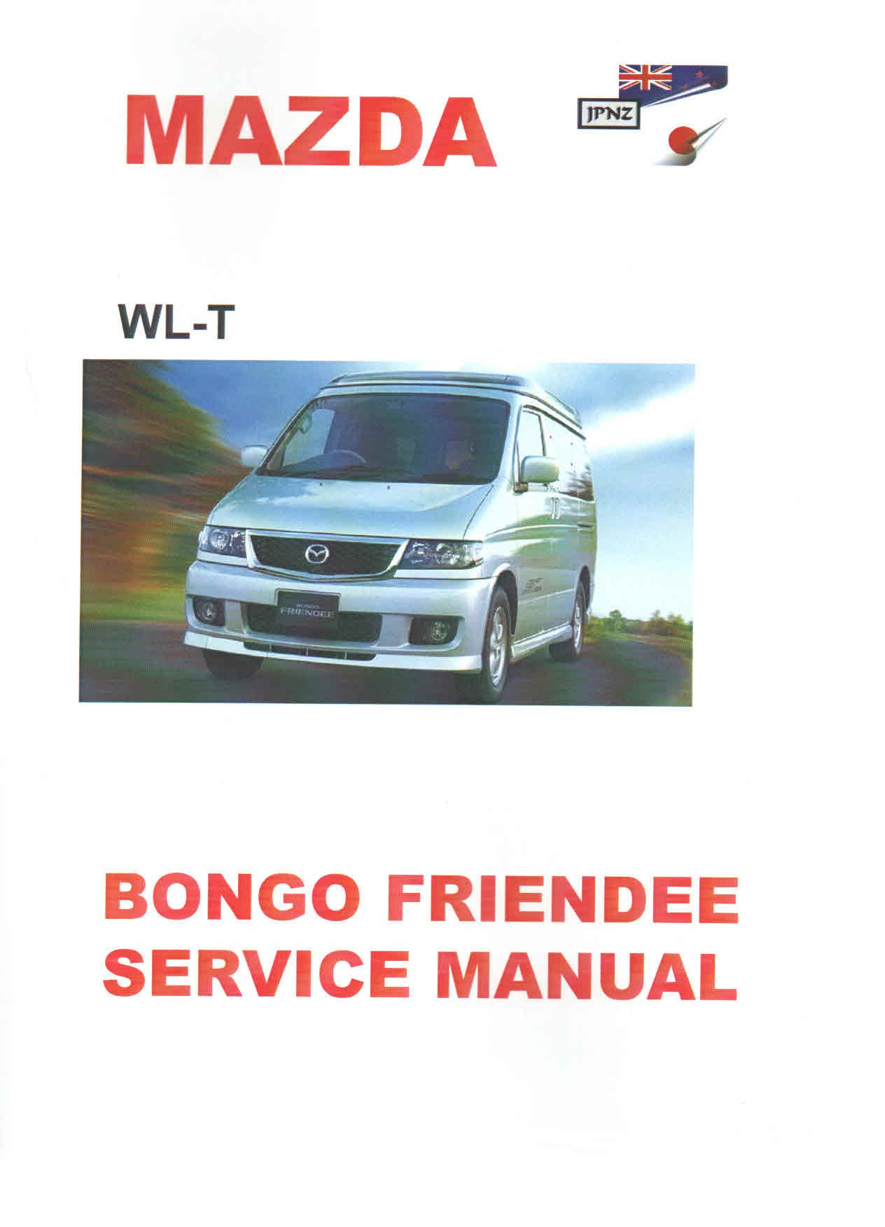 workshop manual bongo camper guide rh bongocamper com 2008 Mazda 3 mazda bongo owners manual download